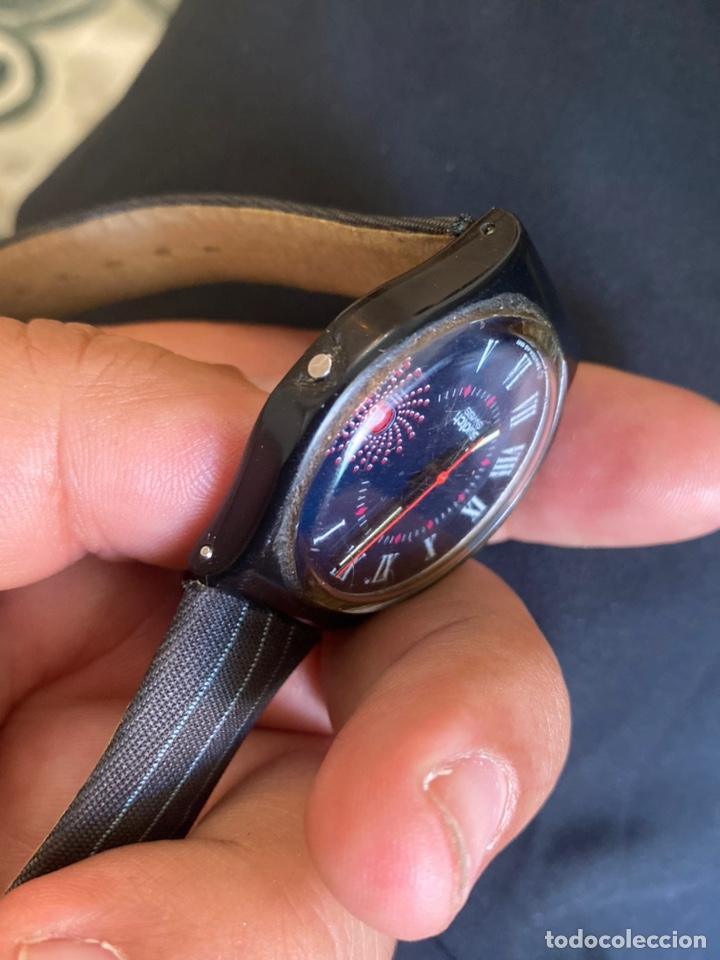 Relojes - Swatch: Reloj Swatch GB 416 BARAJAS Original Made in Switzerland 1991 - Foto 8 - 273128333