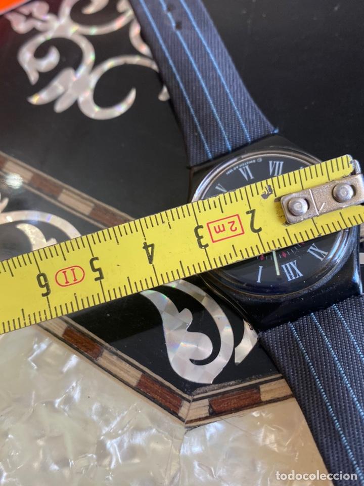 Relojes - Swatch: Reloj Swatch GB 416 BARAJAS Original Made in Switzerland 1991 - Foto 10 - 273128333