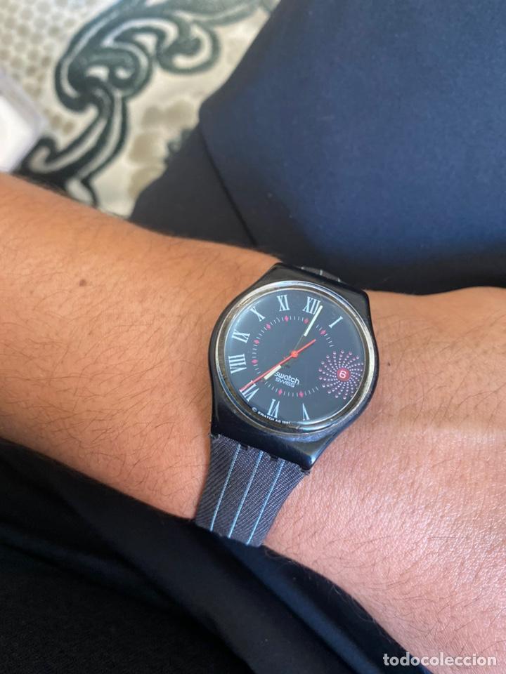 Relojes - Swatch: Reloj Swatch GB 416 BARAJAS Original Made in Switzerland 1991 - Foto 13 - 273128333