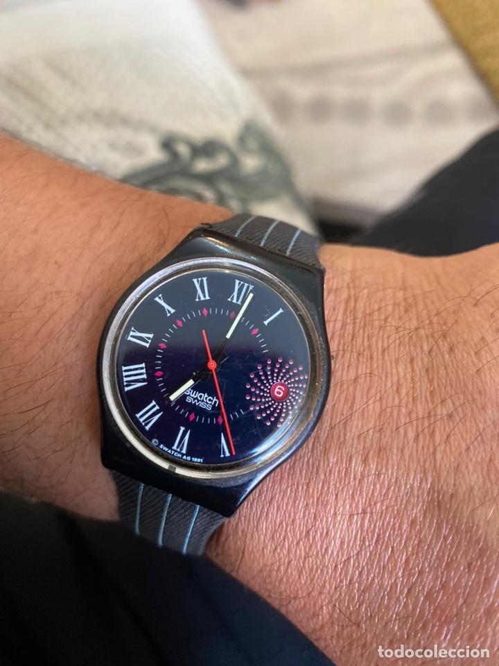 RELOJ SWATCH GB 416 BARAJAS ORIGINAL MADE IN SWITZERLAND 1991 (Relojes - Relojes Actuales - Swatch)