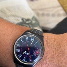 Relojes - Swatch: RELOJ SWATCH GB 416 BARAJAS ORIGINAL MADE IN SWITZERLAND 1991. Lote 273128333