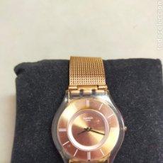 Relojes - Swatch: RELOJ DE PULSERA SWATCH, SWISS, COLOR COBRE, ORO VIEJO.. Lote 276421318
