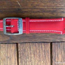 Relojes - Swatch: CORREA PARA RELOJ SWATCH ROJA NUEVA. Lote 276655888