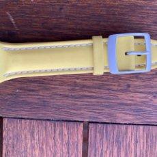 Relojes - Swatch: CORREA PARA RELOJ SWATCH AMARILLA NUEVA. Lote 276659088