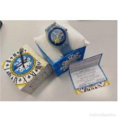 Relojes - Swatch: RELOJ SWATCH MODELO CAPRI, UNISEX, CON CAJA Y COJINETE.... Lote 277744618