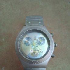 Relojes - Swatch: RELOJ SWATCH IRONY ALUMINIUM. CRONOMETRO. FUNCIONANDO.. Lote 278921693