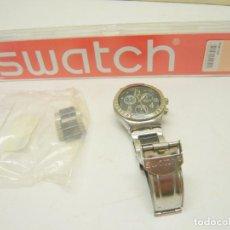 Relojes - Swatch: RELOJ SWATCH IRONY, ACERO INOXIDABLE, CRONÓGRAFO, CALENDARIO.. Lote 282250258