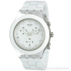 Relojes - Swatch: RELOJ SWATCH FULL BLOODED WHITE SVCK4045AG. Lote 293354228