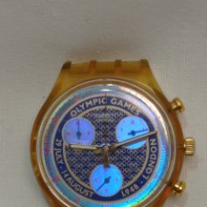 Relojes - Swatch: RELOJ SWATCH OLYMPIC GAMES LONDON 1948. Lote 295018653