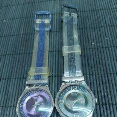 Relojes - Swatch: 2 RELOJES SWATCH EDICION COLECCION EN CONMEMORACION JUEGOS DE ATENAS 2004 NO FUNCIONAN. Lote 295539003