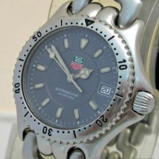 Relojes - Tag Heuer: TAG HEUER MODELO S90.813 PARA MUJER , QUARZO CAL 955.412 AÑO 1985/88. Lote 53733918