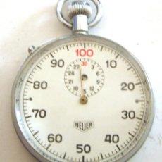 Relojes - Tag Heuer: CRONOMETRO CENTESIMAL HEUER AÑOS 70. Lote 50663249