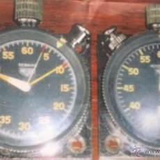 Relojes - Tag Heuer: CONJUNTO DE CRONÓMETRO HEUER MASTER RALLYE. Lote 51994753