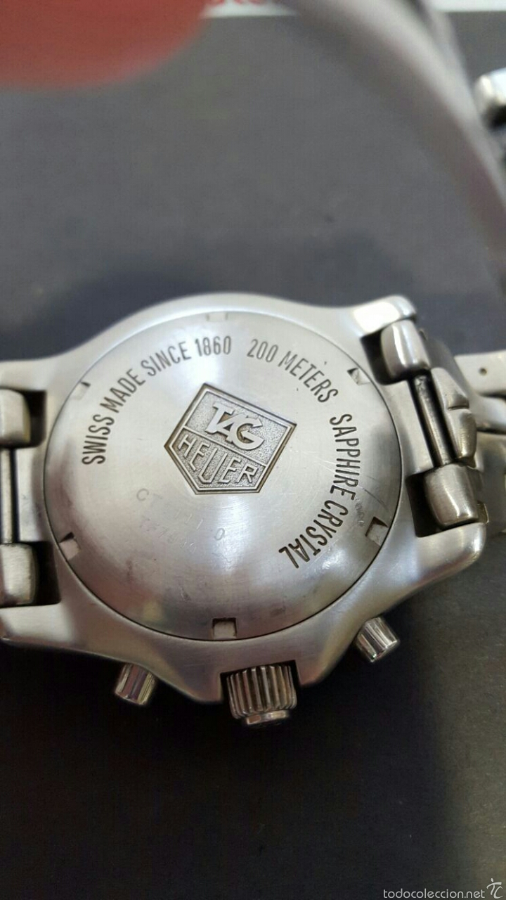 Relojes - Tag Heuer: RELOJ - TAG HEUER LINK CT1111-0 - Foto 2 - 211786312