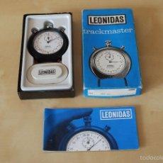 Relojes - Tag Heuer: CRONÓMETRO. HEUER-LEONIDAS. FUNCIONANDO EN PERFECTO ESTADO, CON CAJA ORIGINAL E INSTRUCCIONES.. Lote 57980515