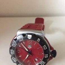 Relojes - Tag Heuer: RELOJ TAG HEUER FORMULA 1 ROJO CAUCHO. Lote 90585890