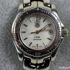 Relojes - Tag Heuer: TAG HEUER LINK 200 METROS - NACAR Y ACERO - MUJER. Lote 97852739