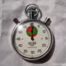 Relojes - Tag Heuer: VINTAGE-HEUER CRONOMETRO TRACKMASTER-53-5-MM. Lote 151321660