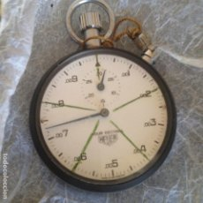 Relojes - Tag Heuer: CRONOMETRO HEVER HOUR DECIMAL ,SWISS,FUNCIONANDO. Lote 129092031