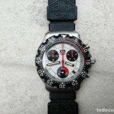 Relojes - Tag Heuer: TAG-HEUER FORMULA 1 CON CORREA CAUCHO TAG-HEUER 38MM. Lote 130792896