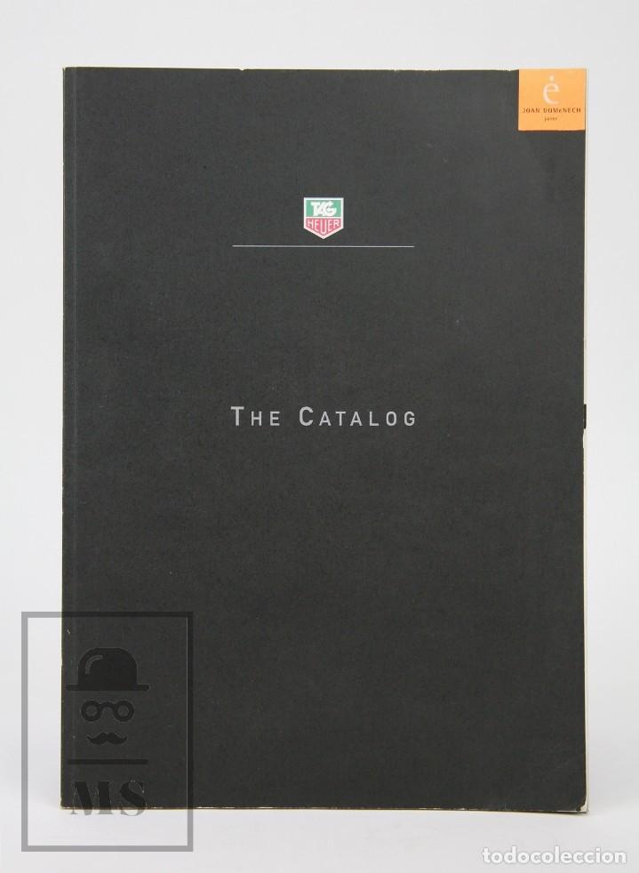 CATÁLOGO DE RELOJES - TAG HEUER. THE CATALOG - FOTOS ANTON CORBIJN, PETER LINDBERGH... - SUIZA, 1999 (Relojes - Relojes Actuales - Tag Heuer )