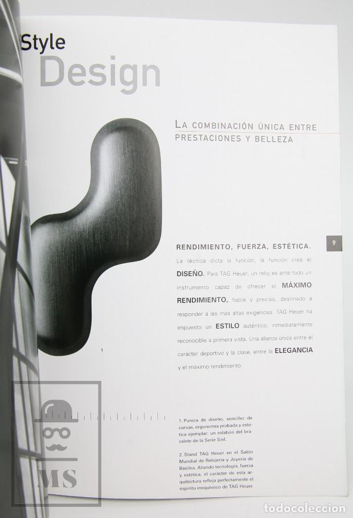 Relojes - Tag Heuer: Catálogo de Relojes - Tag Heuer. The Catalog - Fotos Anton Corbijn, Peter Lindbergh... - Suiza, 1999 - Foto 2 - 136772858