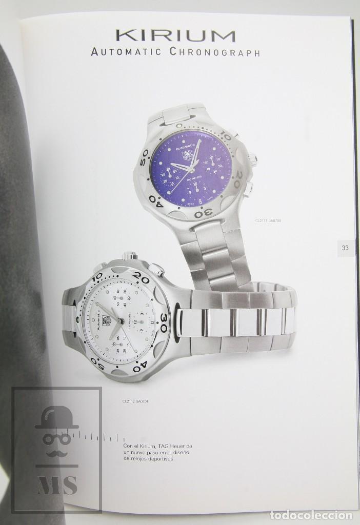 Relojes - Tag Heuer: Catálogo de Relojes - Tag Heuer. The Catalog - Fotos Anton Corbijn, Peter Lindbergh... - Suiza, 1999 - Foto 5 - 136772858