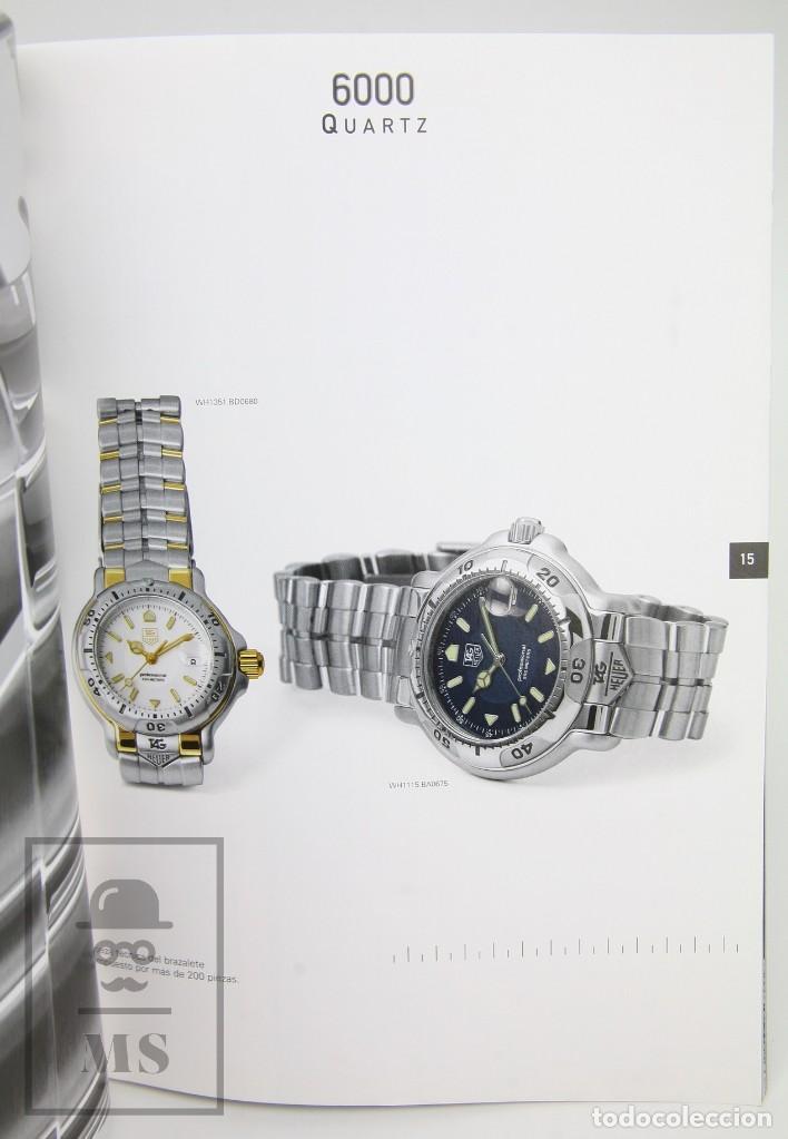 Relojes - Tag Heuer: Catálogo de Relojes - Tag Heuer. The Catalog - Fotos Anton Corbijn, Peter Lindbergh... - Suiza, 1999 - Foto 8 - 136772858