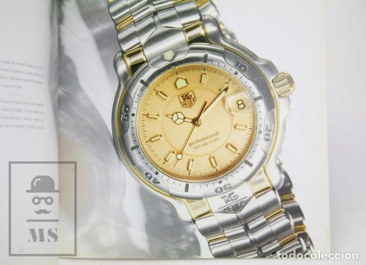 Relojes - Tag Heuer: Catálogo de Relojes - Tag Heuer. The 6000 Series - Suiza, Años 90 - Foto 3 - 136775790