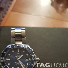 Relojes - Tag Heuer: TAG HEVER ACUACER HOMBRE. Lote 112374339