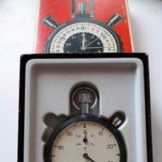 Relojes - Tag Heuer: CHRONOMETRO HEUER LEONIDAS PRE-TAG HEUER.COMO NUEVO CON CAJA . Lote 151616286