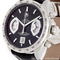Relojes - Tag Heuer: TAG HEUER GRAND CARRERA AUTOMATIC CHRONOGRAPH RELOJ DE CABALLERO. Lote 161195354