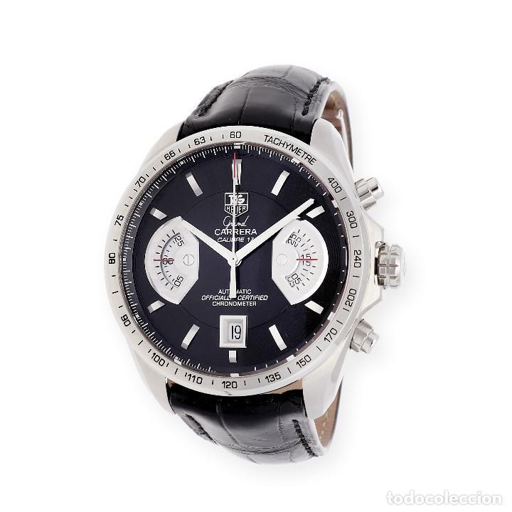 Relojes - Tag Heuer: TAG Heuer Grand Carrera Automatic Chronograph Reloj de Caballero - Foto 2 - 161195354