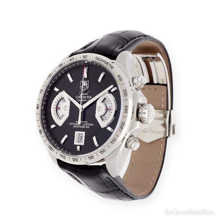Relojes - Tag Heuer: TAG Heuer Grand Carrera Automatic Chronograph Reloj de Caballero - Foto 3 - 161195354