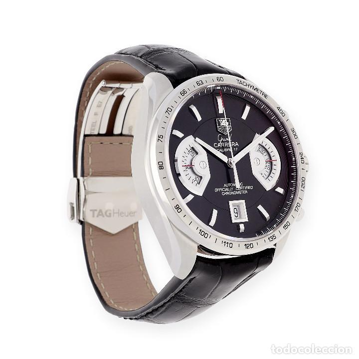 Relojes - Tag Heuer: TAG Heuer Grand Carrera Automatic Chronograph Reloj de Caballero - Foto 4 - 161195354
