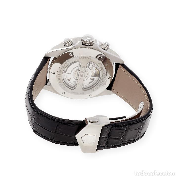 Relojes - Tag Heuer: TAG Heuer Grand Carrera Automatic Chronograph Reloj de Caballero - Foto 6 - 161195354