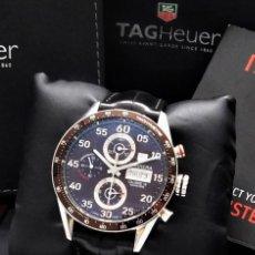 Relojes - Tag Heuer: TAG HEUER CARRERA CALIBRE 16-AUTOMÁTICO-CON DOCUMENTACIÓN-DE CABALLERO. Lote 163512134