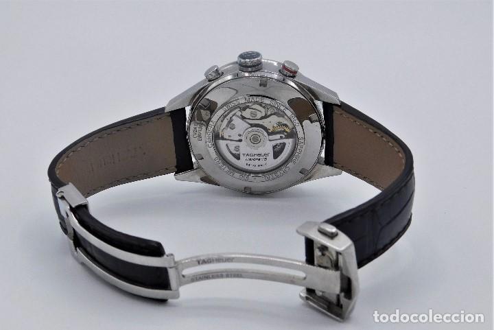 Relojes - Tag Heuer: TAG HEUER CARRERA CALIBRE 16-AUTOMÁTICO-CON DOCUMENTACIÓN-DE CABALLERO - Foto 2 - 163512134