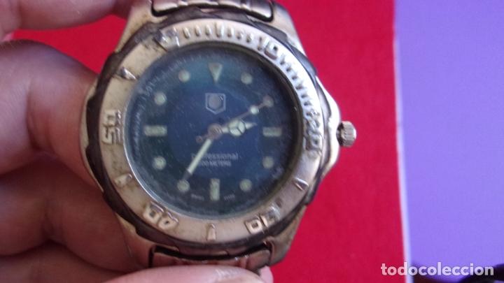 Relojes - Tag Heuer: reloj tag heuer,profesional 200 metros,leer detalles - Foto 2 - 166604974