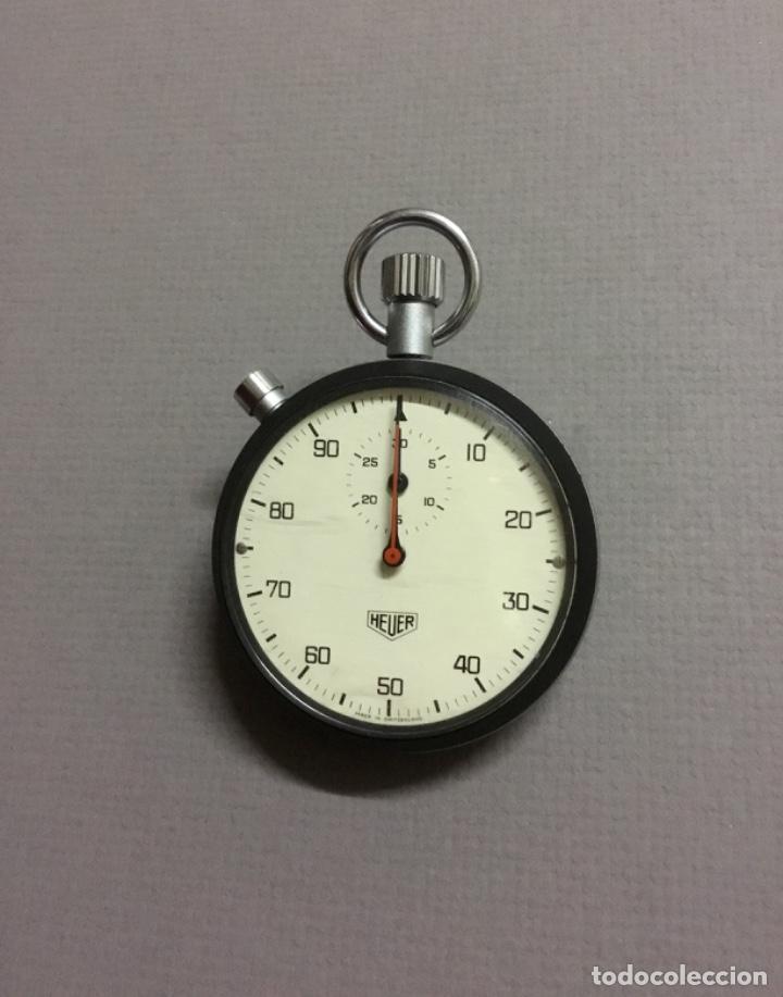 ANTIGUO CRONÓMETRO CENTESIMAL HEUER IMPECABLE (Relojes - Relojes Actuales - Tag Heuer )