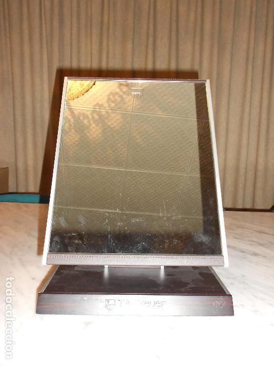 Relojes - Tag Heuer: TAG HEUER ESPEJO DISPLAY EXPOSITOR OFICIAL ORIGINAL MIRROR RELOJ - Foto 5 - 169937104