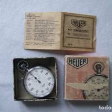 Relojes - Tag Heuer: CRONOGRAFO HEUER MECANICO EN SU CAJA ORIGINAL FUNCIONANDO. Lote 171123074