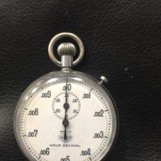 Relojes - Tag Heuer: CRONÓMETRO HEUER BEVER ZÚRICH HOUR DECIMAL NUMERO 815084. Lote 171124964