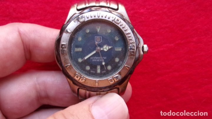 Relojes - Tag Heuer: reloj tag heuer,profesional 200 metros,leer detalles - Foto 7 - 166604974
