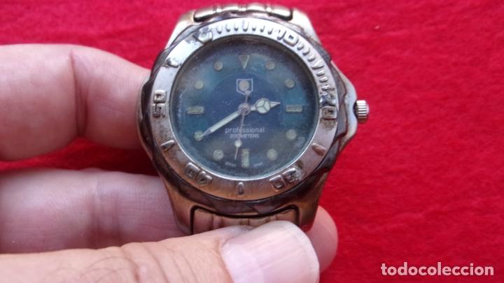 Relojes - Tag Heuer: reloj tag heuer,profesional 200 metros,leer detalles - Foto 8 - 166604974