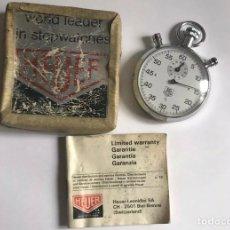 Relojes - Tag Heuer: CRONOMETRO HEUER-LEONIDAS LIMITED WARRANTY SA CH-2501 BIEL-BIENNE (SWITZERLAND). Lote 175303635