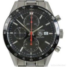 Relojes - Tag Heuer: TAG HEUER CARRERA CRONÓGRAFO AUTOMÁTICO CALIBRE 16 REF. CV2014. Lote 176343729