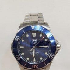 Relojes - Tag Heuer: RELOJ TAG HEUER AQUARACER WAB 2011, AZUL. Lote 182364883