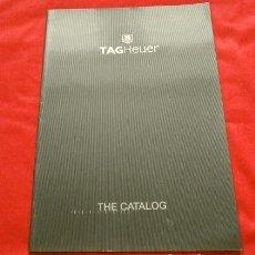 Relojes - Tag Heuer: CATALOGO RELOJES TAG HEUER - THE CATALOG - SWISS - CATÁLOGO PUBLICITARIO 2001. Lote 192648348