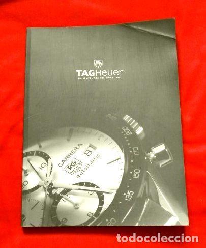 GRAN CATALOGO RELOJES TAG HEUER - 111 PÁGINAS CON LISTA DE PRECIOS 2005 - TAGHEUER PUBLICITARIO 2001 (Relojes - Relojes Actuales - Tag Heuer )